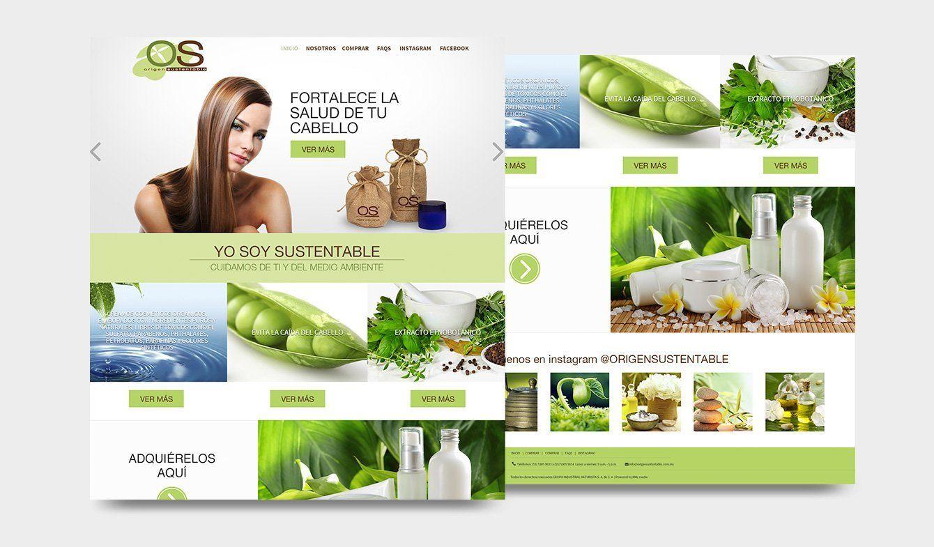 OS, Origen sustentable, diseño sitio web, 2017