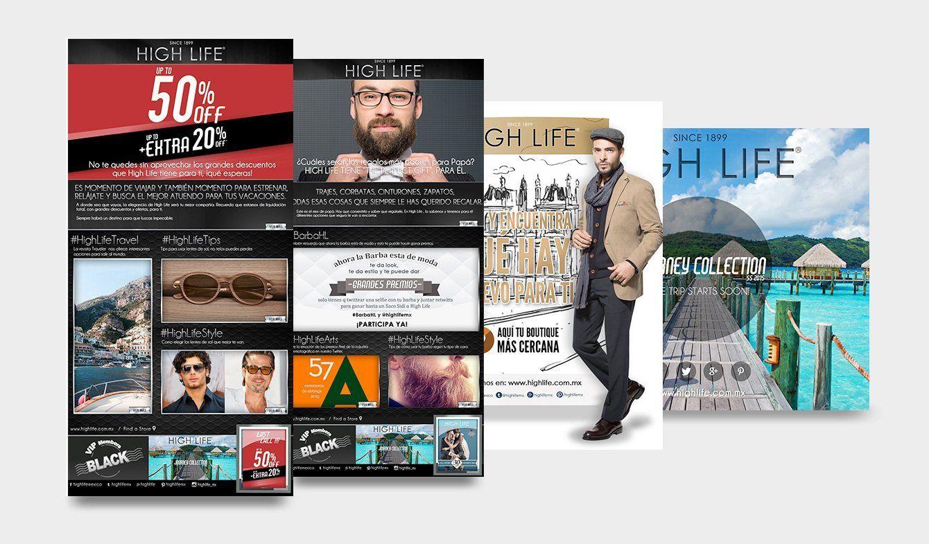 Mail Marketing High Life, 2014