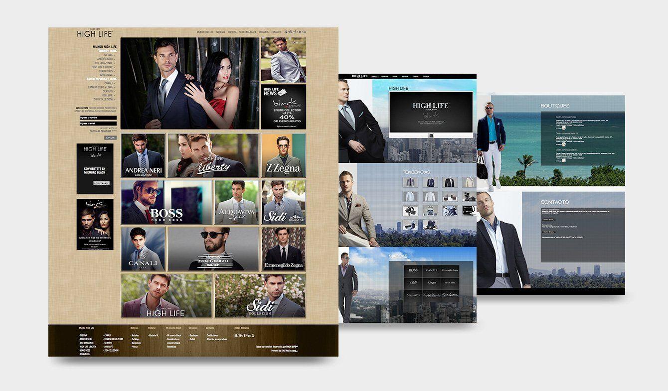 Sitios High Life 2012, dos versiones por año