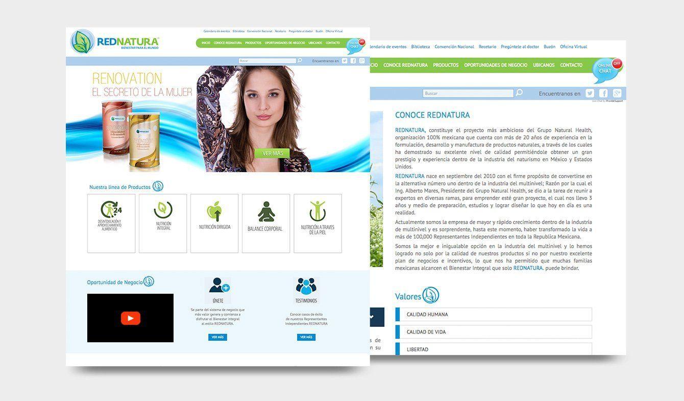 Sitio Web para Red Natura, 2013