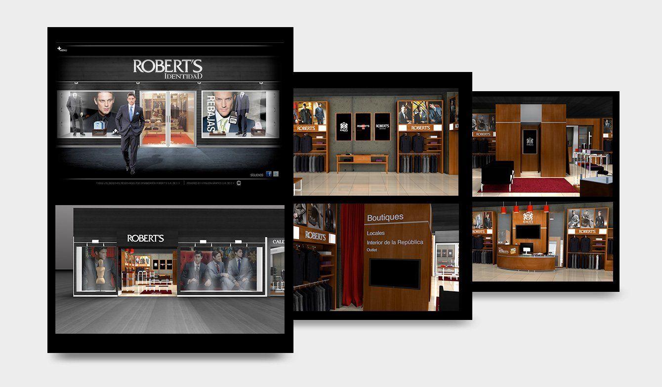 Modelado y Renders para sitio Web Robert's Identidad, 2012